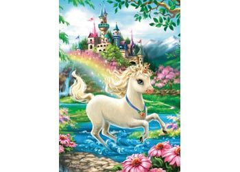 Rburg - Unicorn Castle Puzzle 35pc