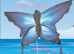 Ulysses Butterfly Kite