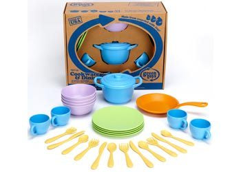 Green Toys - Cookware Dining Set
