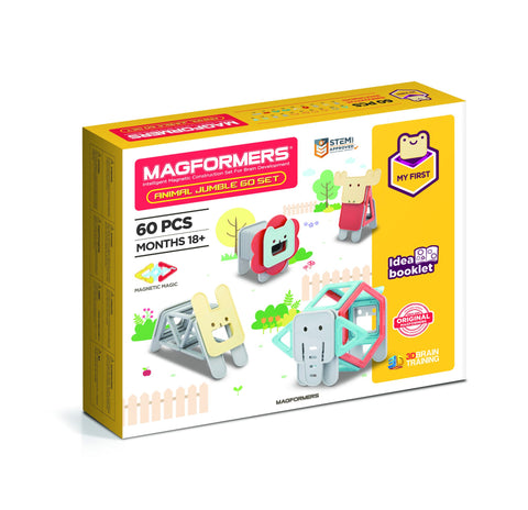 Magformers - My First Animal Jumble 60 Set