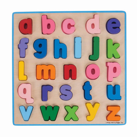 Bigjigs - Chunky Alphabet Puzzle Lowercase