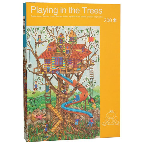 Playing In The Trees 200 Piece Puzzle