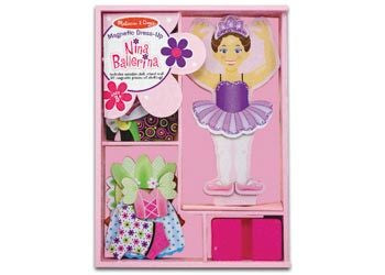 M&D - Nina Ballerina Magnetic Dress-Up