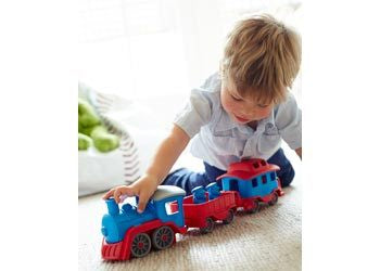 Green Toys - Train - Blue