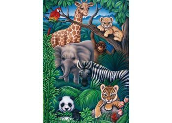 Animal Kingdom 35Pce Puzzle