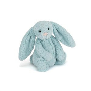 Jellycat Bashful aqua Bunny small soft and cuddly