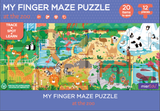 MierEdu My Finger maze Puzzle -at the zoo