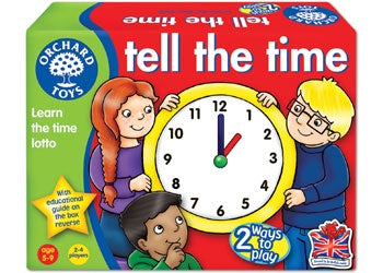Orchard Toys - Tell the Time Lotto Game