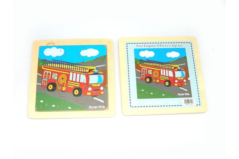 FIRE ENGINE 9PCS JIGSAW