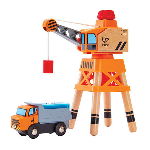 Hape Large Boom Crane 3 Pieces