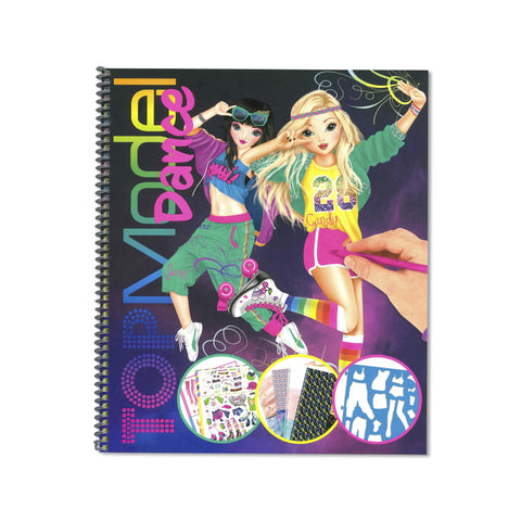 Top Model - Dance Colouring & Activity Book