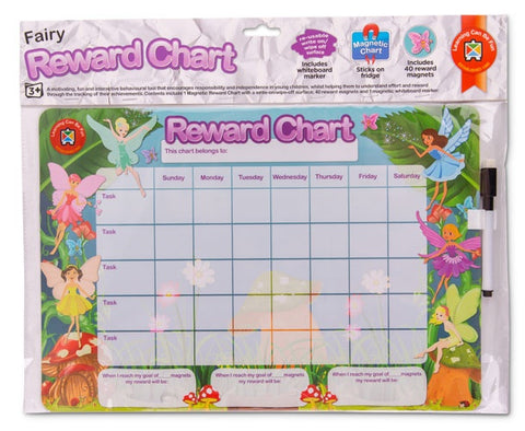Fairies Magnetic Reward Chart