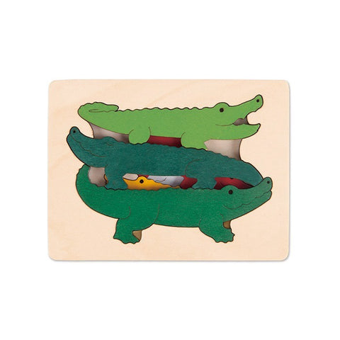 George Luck Crocodiles Puzzle