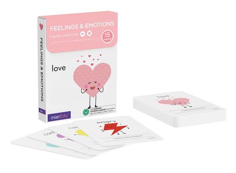 Mieredu - Cognitive Flash Cards - Feelings & Emotions
