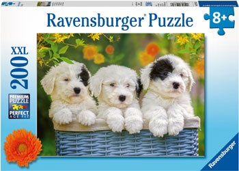 Ravensburger - Cuddly Puppies Puzzle 200pc
