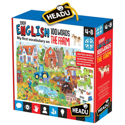 Headu - Easy English 100 Words Farm