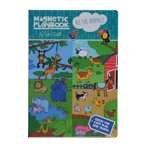 Tiger Tribe - Magnetic Play Book All the Animals