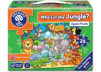 Orchard Toys - Who's In the Jungle? Jigsaw