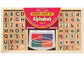 M&D - Alphabet Stamp Set