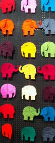 Horsley Felt Garland Elephant