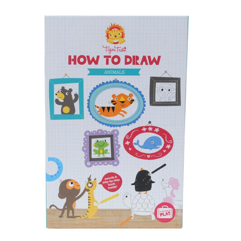 Tiger Tribe - How to Draw - Animals