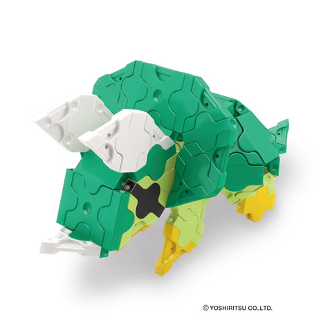 DINOSAUR WORLD MINI TRICERATOPS - 1 MODEL, 88 PIECES