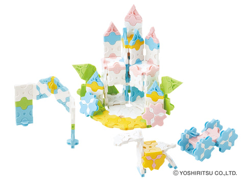 SWEET COLLECTION PRINCESS GARDEN - 5 MODELS, 175 PIECES