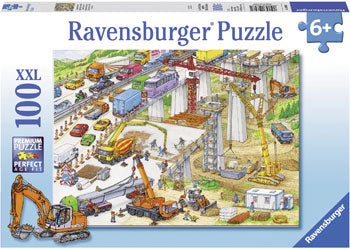 Rburg - Construction Site Puzzle 100pc