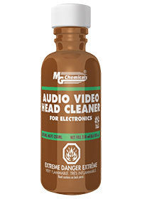 AUDIO / VIDEO HEAD CLEANER