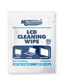 LCD CLEANING WIPE - INDIVIDUAL PACKS