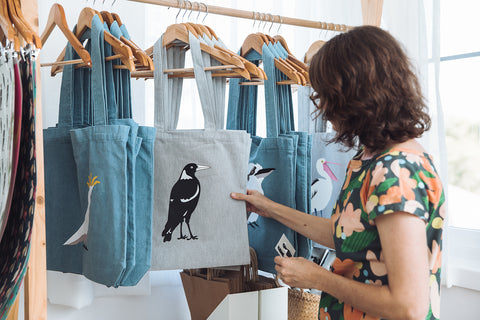 Love From Shop Magpie tote bag