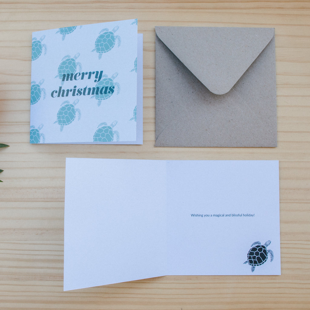 Christmas Card - Turtle