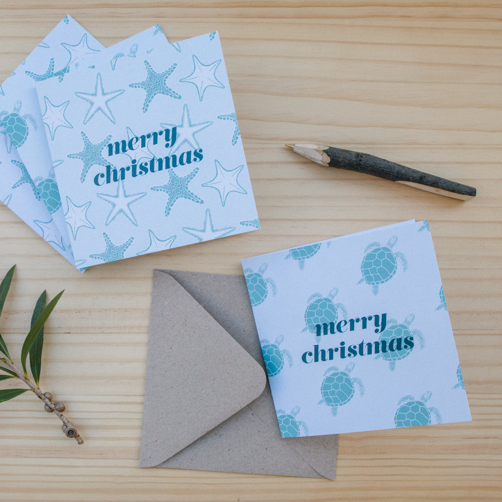 Christmas Cards - Coastal 10 Pack
