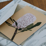 Greeting Card - Banksia