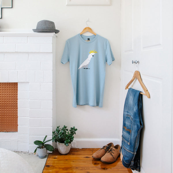 T-shirt Men's Cockatoo Australian Native Bird