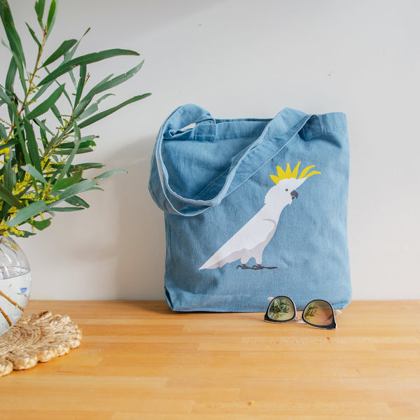 Tote Bag Cockatoo Australian Native Bird