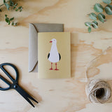 Greeting Card - Seagull Australian Bird