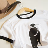 T-shirt Women's Magpie Australian Native Bird