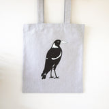 Tote Bag Magpie Australian Native Bird