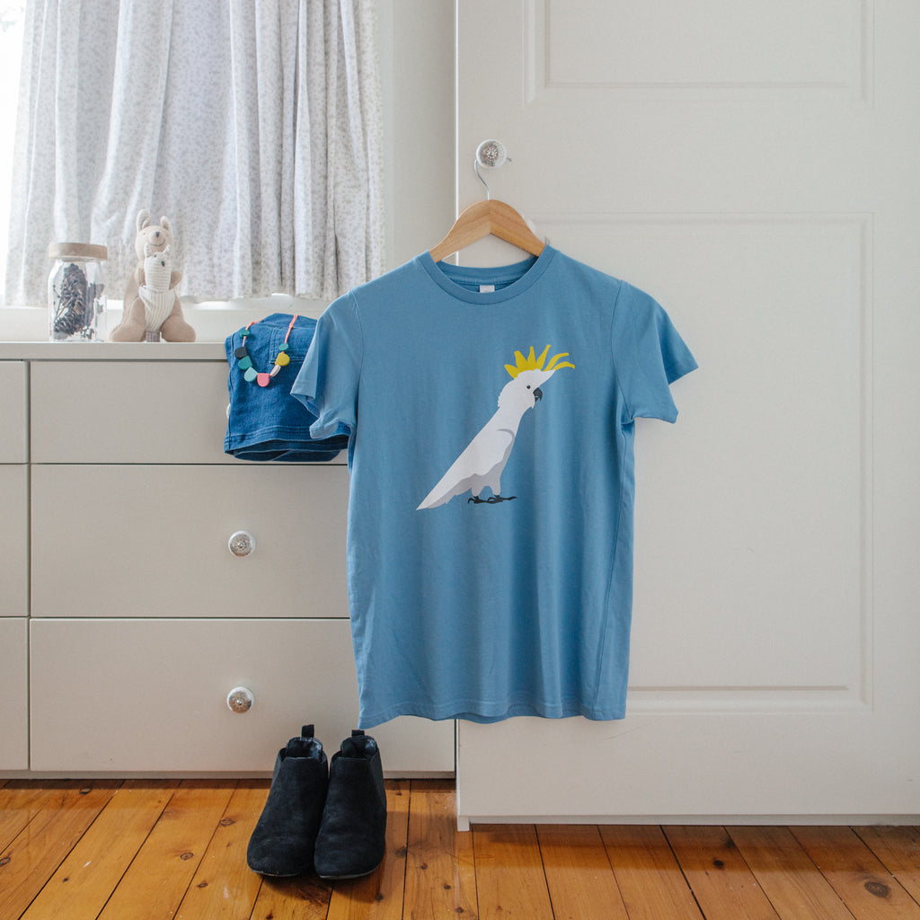 T-shirt - Kids Cockatoo