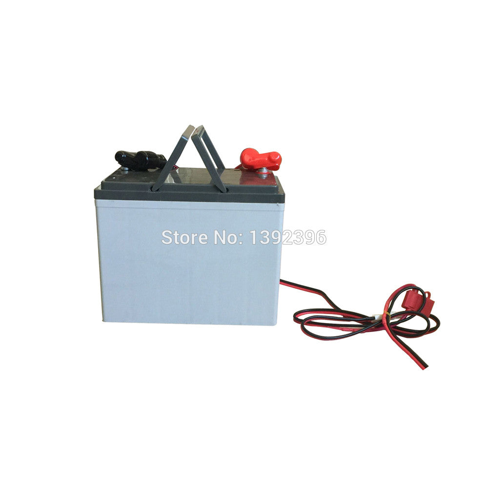 12V 65AH Lead Acid Battery Connect With Solar Panel Solar Power System  Refrigerator Freezer 2017