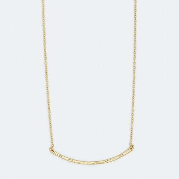 Taner Bar Necklace- Small
