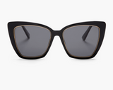 DIFF Becky IV -Black + Grey Polarized Sunglasses