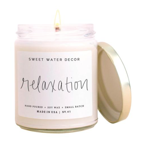 Relaxation Soy Candle
