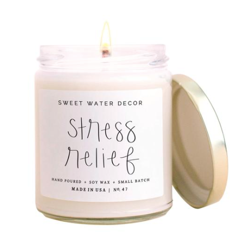 Stress Relief Soy Candle