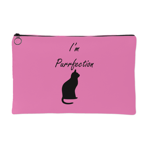 Purrfection Pouch- Pink
