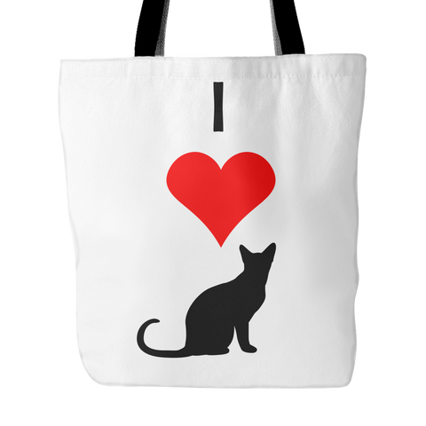 I Love Cats Tote