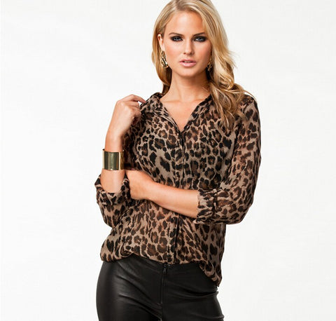 the Leo Blouse