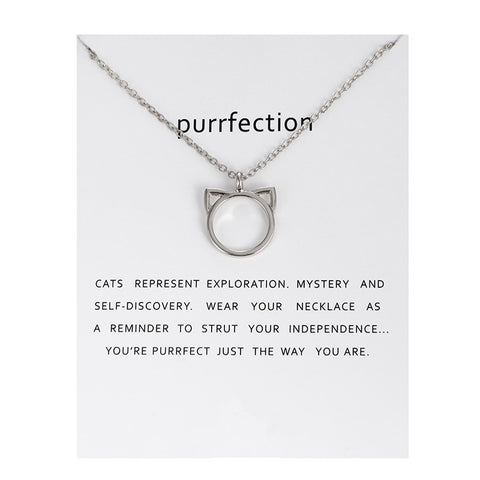 Purrfection Necklace