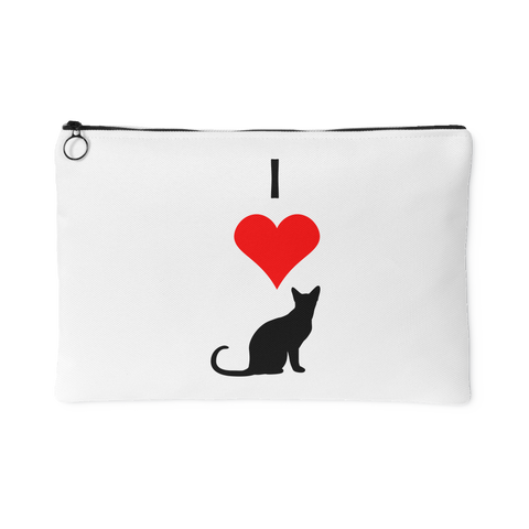 I Love Cats Pouch